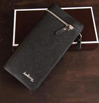 Клатч-портмоне мужской Baellerry Italia (Черный), фото 3