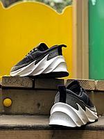 Кроссовки Adidas акула черн сер