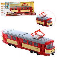 Игрушечный Трамвай PLAY SMART арт. 9708D, расцветки в ассортименте