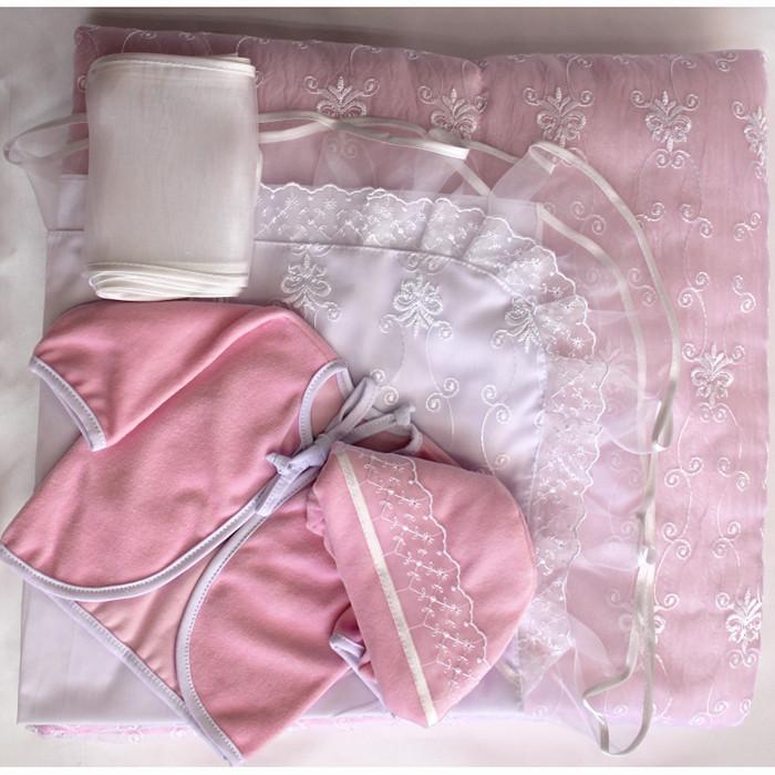Комплект на выписку БАЛУ ЖАТКА розовый ВЕСНА-ОСЕНЬ 7пр