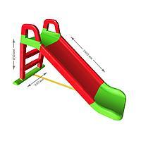 Горка детская Doloni Веселый спуск 0140 красный/зеленый, фото 1