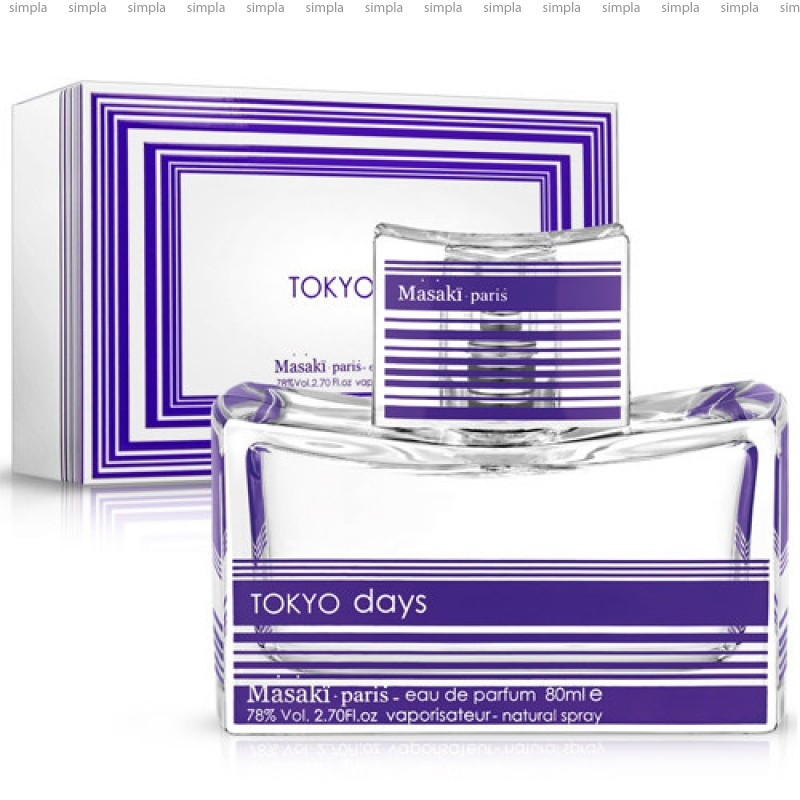 Masaki Matsushima Tokyo Days парфюмированная вода объем 40 мл (ОРИГИНАЛ)