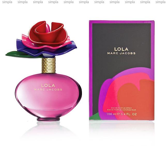 Marc Jacobs Lola парфюмированная вода объем 100 мл Тестер (ОРИГИНАЛ)