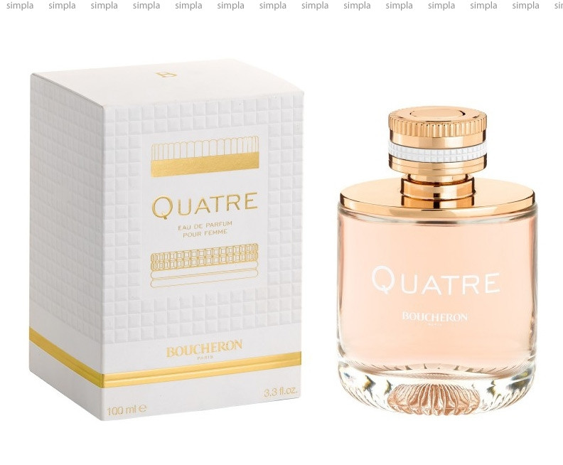 Boucheron Quatre Pour Femme парфюмированная вода объем 4,5 мл (ОРИГИНАЛ)