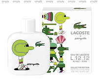 Lacoste Eau de Lacoste L.12.12 Blanc Pure Collector Edition Pour Homme Jeremyville туалетная вода объем 50 мл (ОРИГИНАЛ)