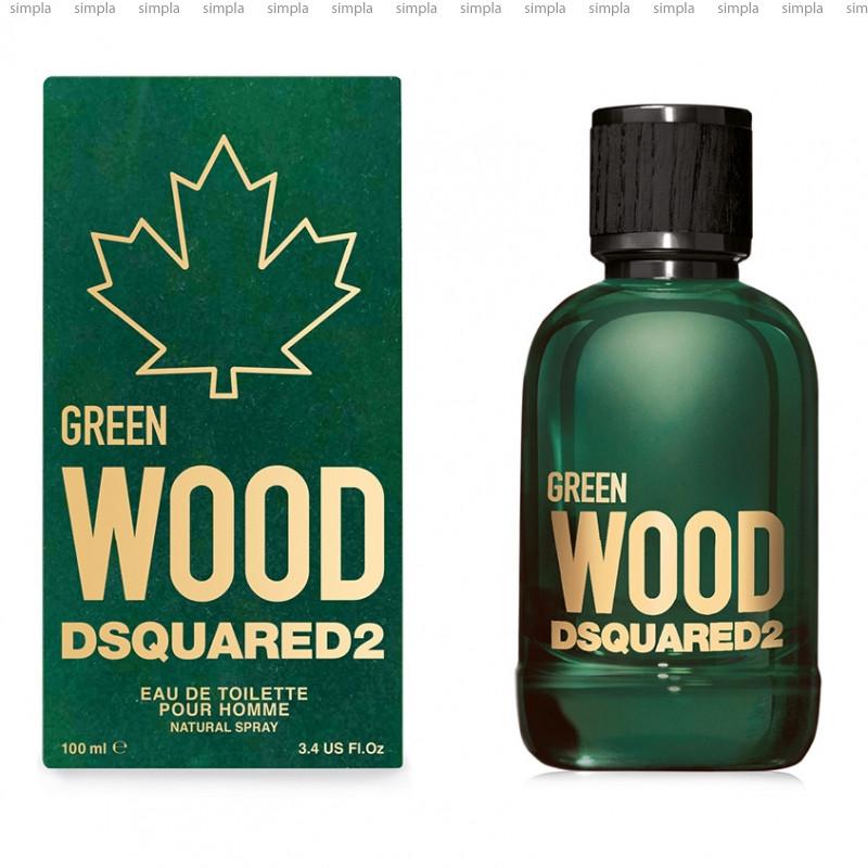 DSquared2 Green Wood туалетная вода объем 100 мл (ОРИГИНАЛ)
