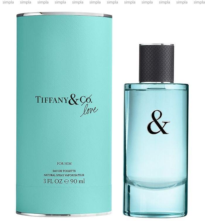 Tiffany Tiffany & Co Love For Him туалетная вода объем 5 мл (ОРИГИНАЛ)