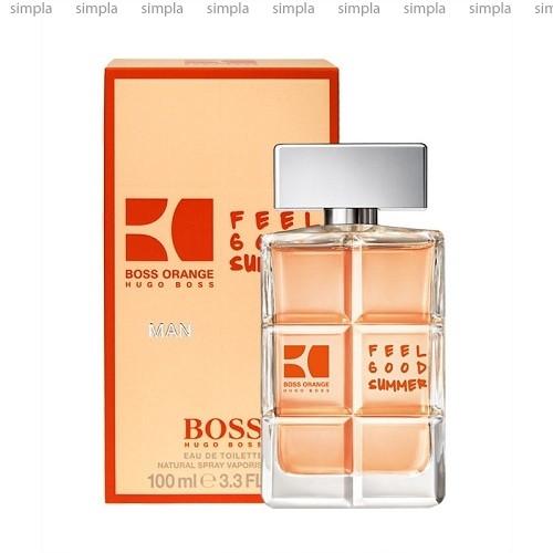 Hugo Boss Boss Orange Man Feel Good Summer туалетная вода  (ОРИГИНАЛ)