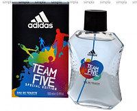 Adidas Team Five туалетная вода объем 50 мл тестер (ОРИГИНАЛ)