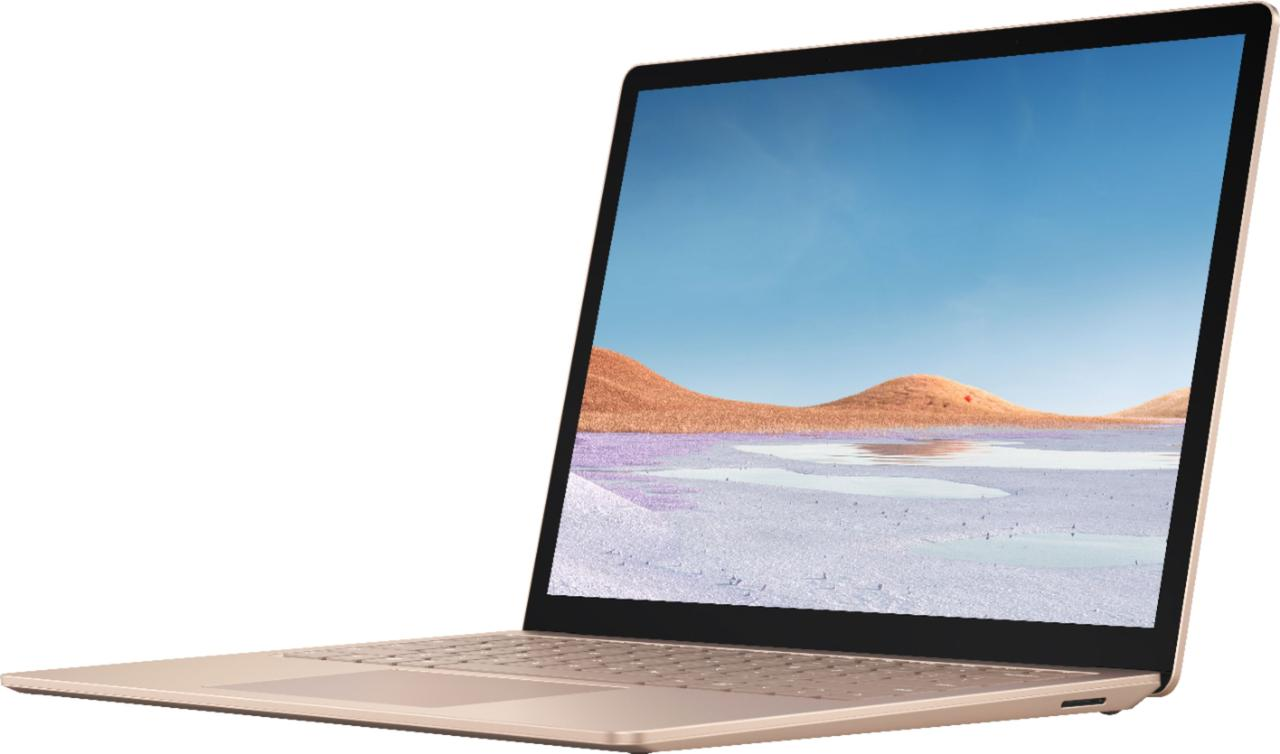 "Surface Laptop 3 - 13.5"" Touch-Screen - Intel Core i5 - 8GB Memory - 256GB Sandstone"