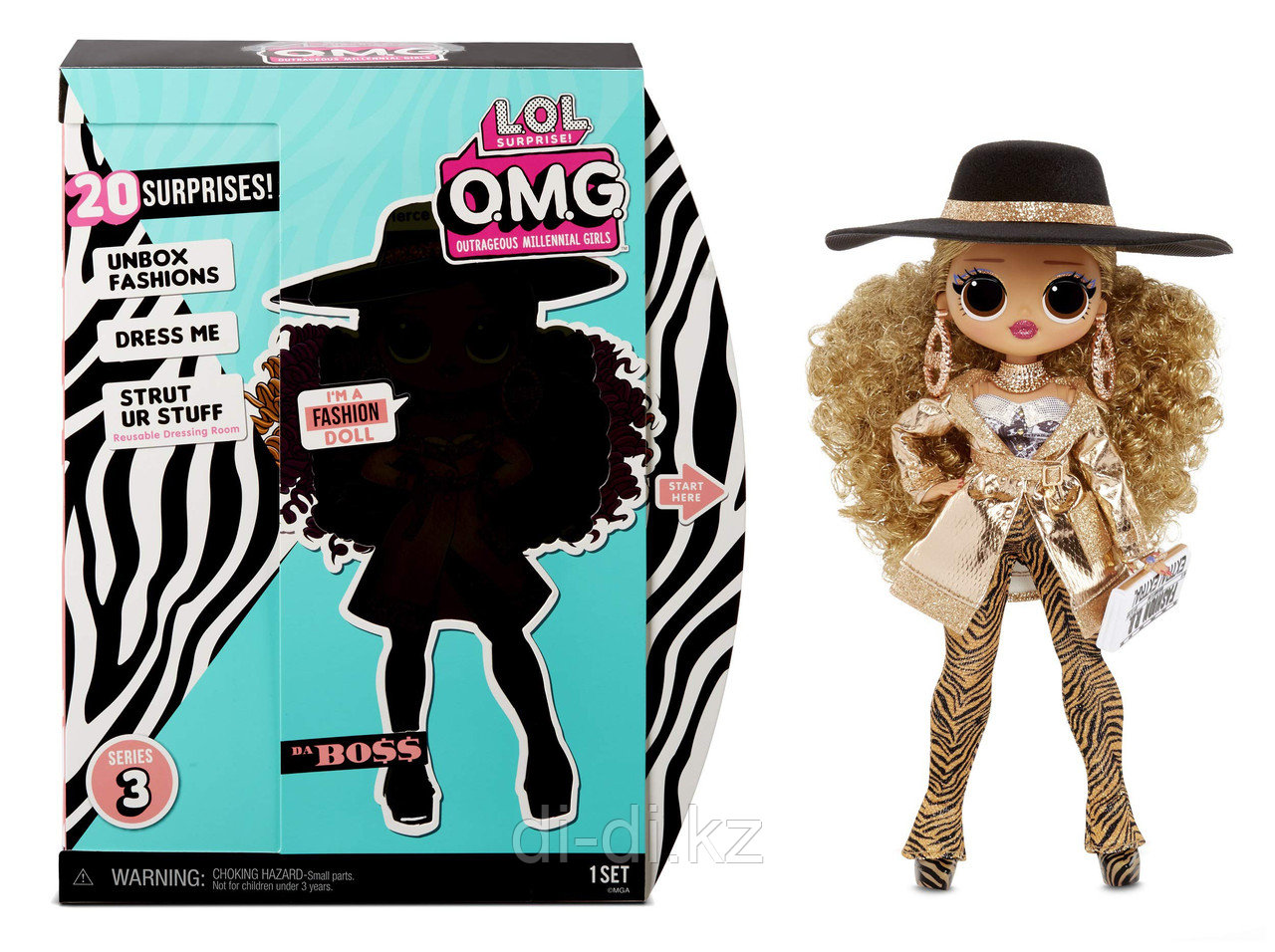 Кукла LOL OMG 3 series Da Boss - фото 1