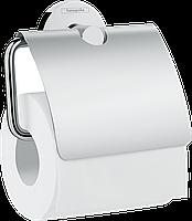 Hansgrohe Logis Universal Держатель рулона туалетной бумаги с крышкой (41723000)