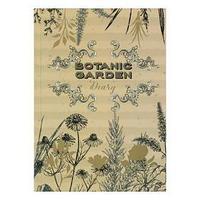 Ежедневник недатированный А5, 152 листа 'Ботанический сад', твёрдая обложка, матовая ламинация, выборочный