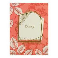 Ежедневник недатированный А5, 152 листа 'Золотые мечты', твёрдая обложка, матовая ламинация, выборочный лак,