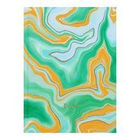 Ежедневник недатированный А6, 112 листов 'Переливы цвета', твёрдая обложка, матовая ламинация, тиснение