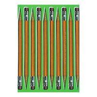 Записная книжка А5, 100 листов 'В коробке с карандашами', сшивная, твёрдая обложка, матовая ламинация,