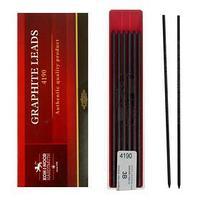 Грифели для цанговых карандашей 2.0 мм Koh-I-Noor 4190 3В, 12 штук (комплект из 3 шт.)