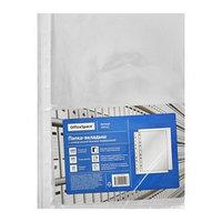 Файл-вкладыш А4 25 мкм, OfficeSpace, с перфорацией, глянцевый, 100 штук в упаковке