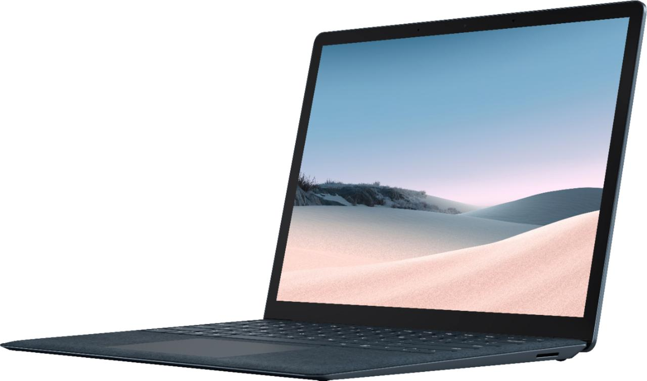 "Surface Laptop 3 - 13.5"" Touch-Screen - Intel Core i7 - 16GB Memory - 512GB Cobalt Blue"