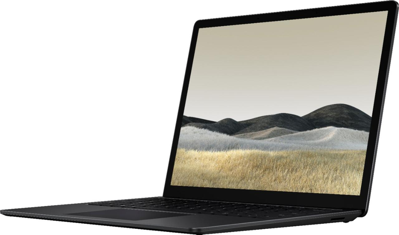 "Surface Laptop 3 - 15"" Touch-Screen - Intel Core i7 - 16GB Memory - 256GB Black (Metal)"