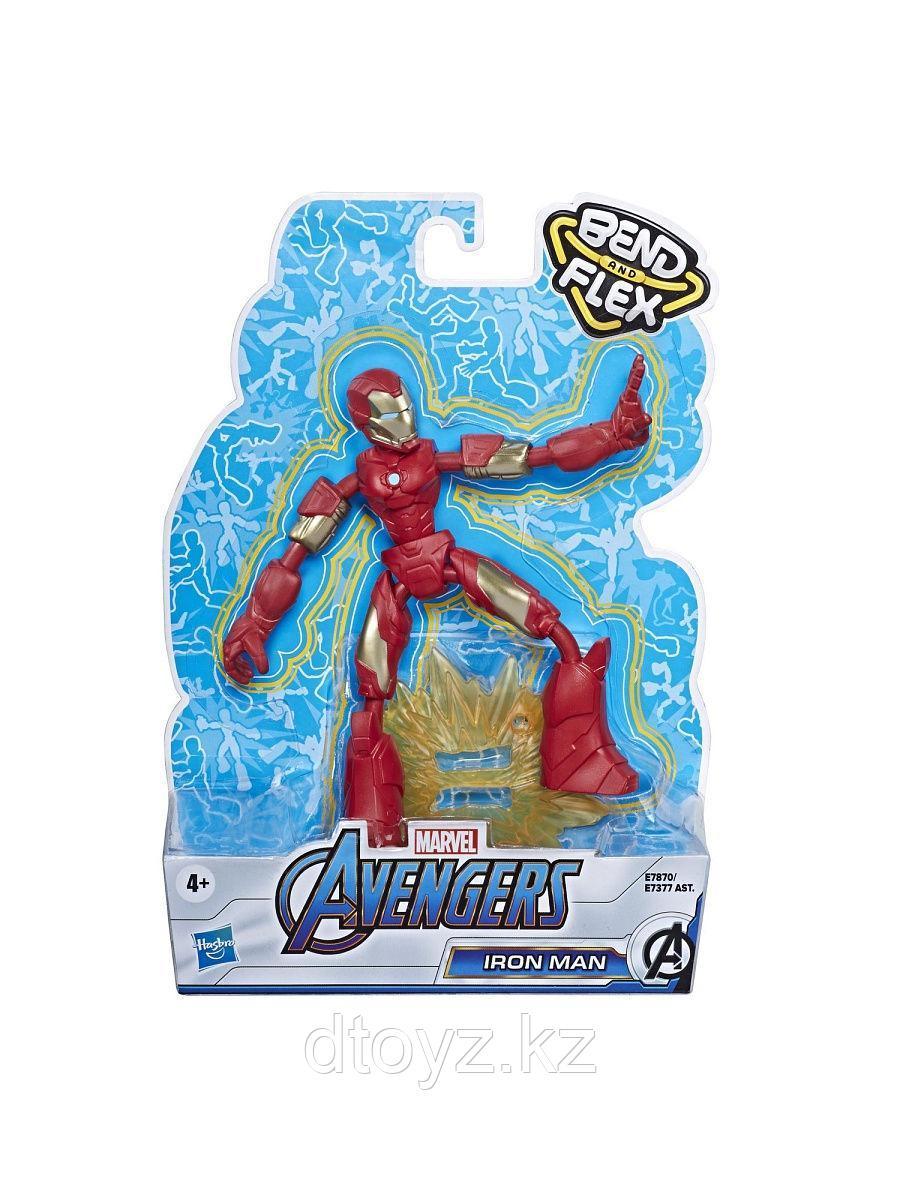 Фигурка Железный человек Мстители 15 см Бенди
