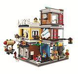 Конструктор Аналог лего Lego: 31097 Creator 3in1  Lari Bela 11401 Зоомагазин и кафе в центре города, фото 2