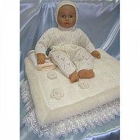 Комплект для новорожденного БАЛУ ОБЛАЧКО кремовый с пледом вязанный трико 9пр.ЗИМА