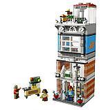 Конструктор Аналог лего Lego: 31097 Creator 3in1  Lari Bela 11401 Зоомагазин и кафе в центре города, фото 4