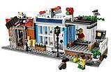 Конструктор Аналог лего Lego: 31097 Creator 3in1  Lari Bela 11401 Зоомагазин и кафе в центре города, фото 3