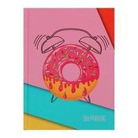 Записная книжка А6, 64 листа 'Красочное утро', сшивная, твёрдая обложка, матовая ламинация, выборочный лак,