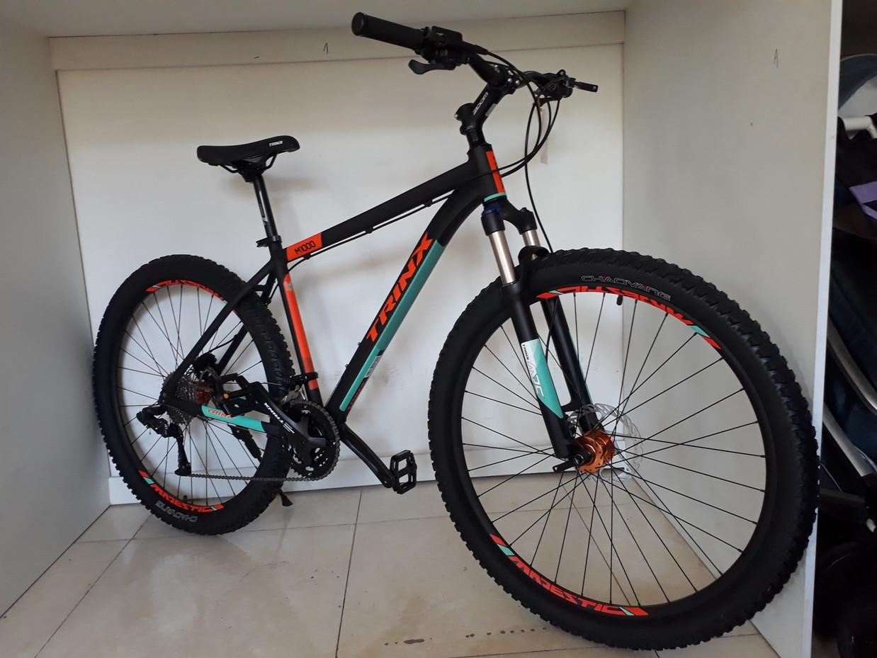 Велосипед Trinx M1000, 19 рама, 29 колеса. Гидравика. Найнер