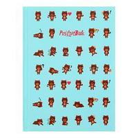 Записная книжка А6, 64 листа PositiveBook 'Дизайн-5', твёрдая обложка, глянцевая ламинация, блок 60 г/м2