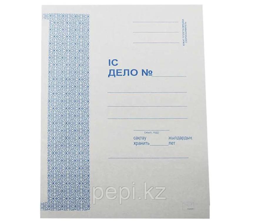 """Скоросшиватель """"Дело"""", белый, 260 г/м"""