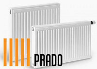 Стальные радиаторы PRADO 22х500х400V Universal 847 Вт  нижнее под-е, фото 1