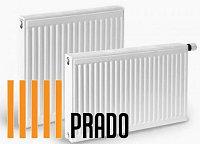 Стальные радиаторы PRADO 22х500х500V Universal 1069 Вт  нижнее под-е