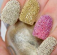 Бульонки шарики на ногти для дизайна