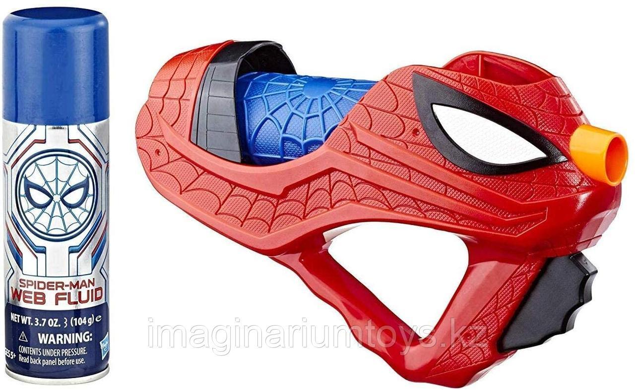 Игрушка бластер Человека-паука стреляющий паутиной и водой