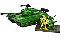 8661 Танк военный SY Product 4 солдата 29*10, фото 1