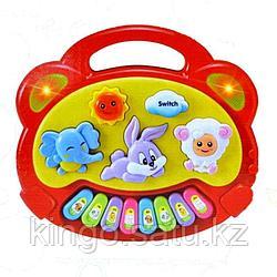 """Развивающая игрушка """"Пианино. Счастье животных"""""""