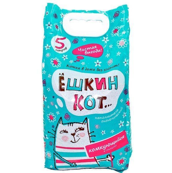 Наполнитель для кошачьего туалета Ёшкин Кот Комкующийся