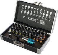 Набор бит, 32 предм. GROSS 11363 (магнитный адаптер, пластиковый кейс)