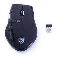 """Zwerg мышь """"Panzer"""" беспроводная оптическая USB/2.4Ghz/800*1600dpi/5кнопок/XP/Vista/7/8/Mac/2xAA BLA"""