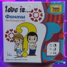 """Настольная игра """"Love is Фанты"""""""
