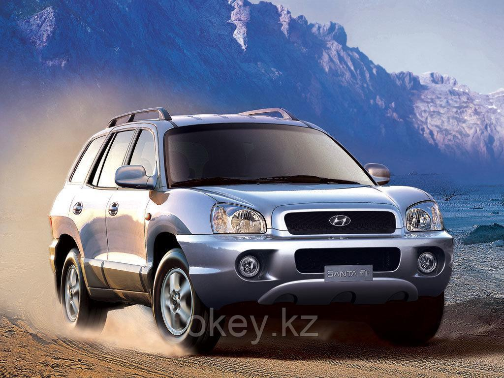 Тормозные колодки Kötl 3284KT для Hyundai Santa Fe I (SM)/Classic 2.4 16V, 2001-2006 года выпуска.