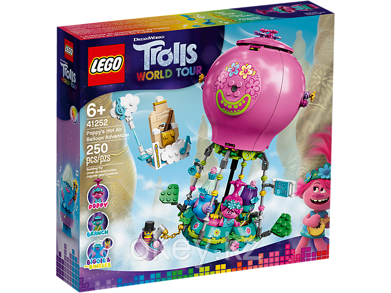 LEGO Trolls: Путешествие Розочки на воздушном шаре 41252