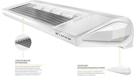 Воздушная завеса с тепловым  водяным нагревом Wing  W200 EC, фото 2