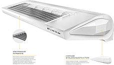 Воздушная завеса с электрическим нагревателем E100 AC, фото 3