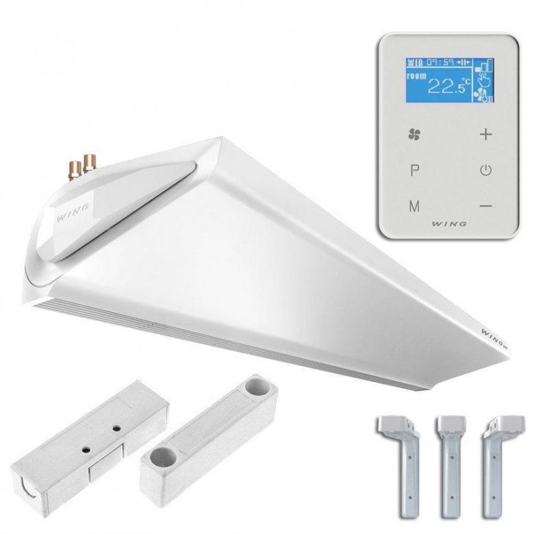 Воздушная завеса с электрическим нагревателем E100 AC