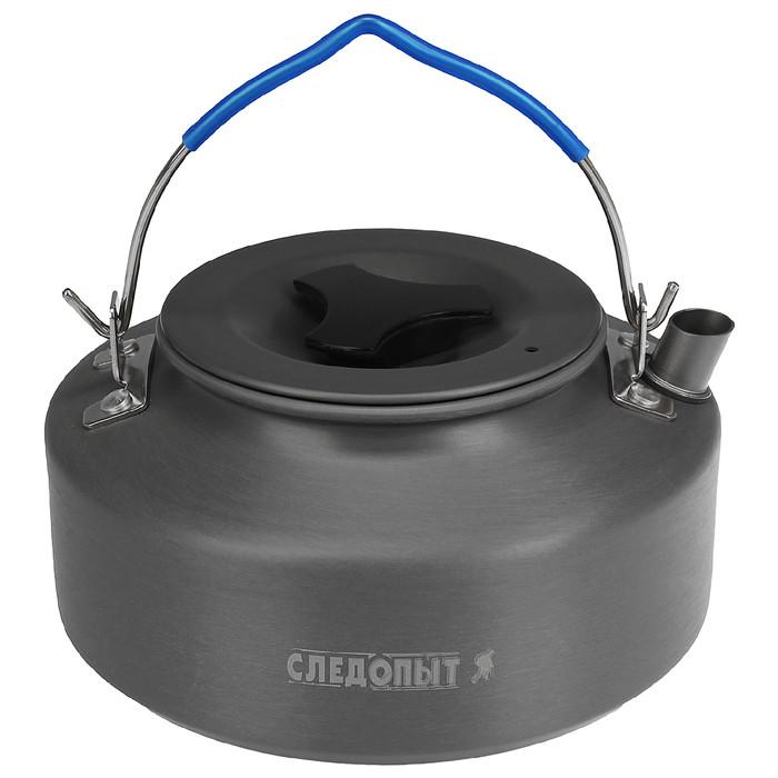 Чайник костровой «СЛЕДОПЫТ», 1,0 л, с анодированным покрытием