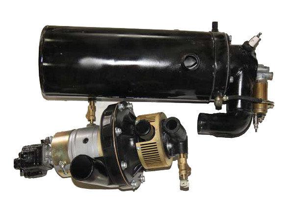 Подогреватель жидкостный БелАЗ-540, МАЗ-537, 538 дизель, фото 2